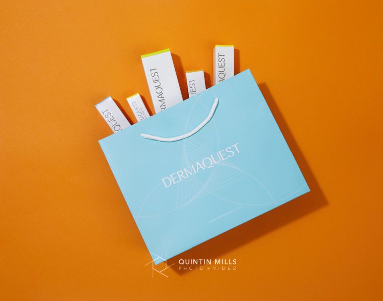 DermaQuest product photography. Commercial photography portfolio