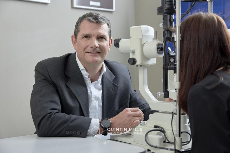 Ophthalmologist portraits