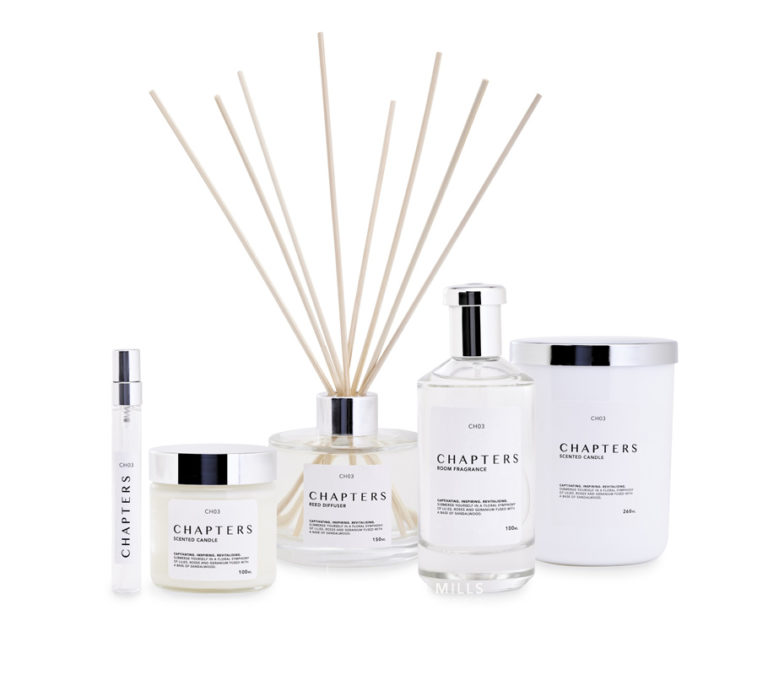 Chapters fragrance products