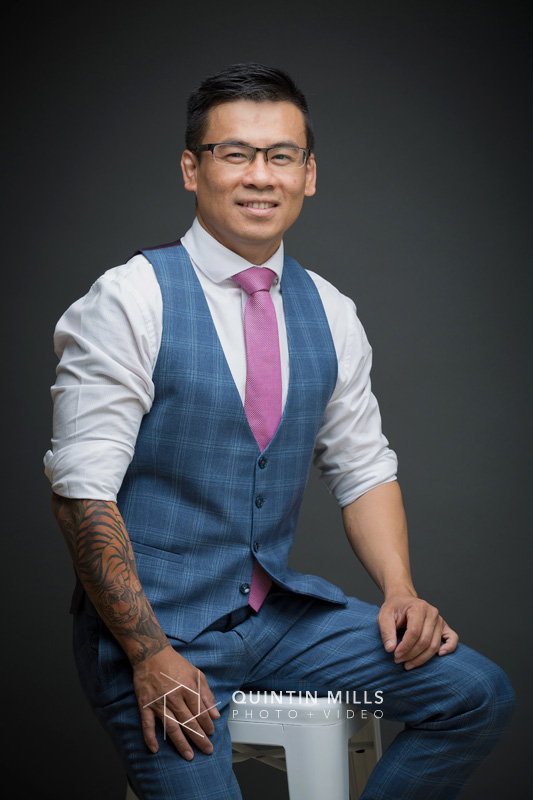 GIBS Business School portraits