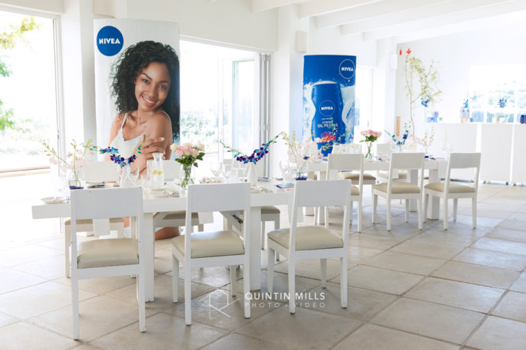 Nivea product launch by Quintin Mills.